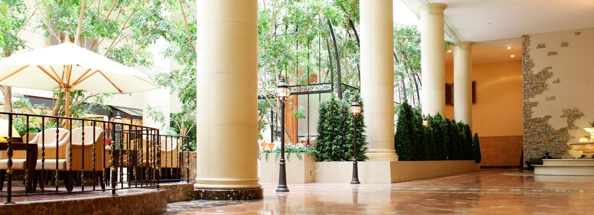 オリエンタルホテル東京ベイのロビー(画像引用元:楽天トラベル)