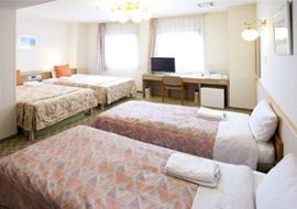パールホテル葛西のファミリールーム5人部屋(画像引用元:じゃらん)