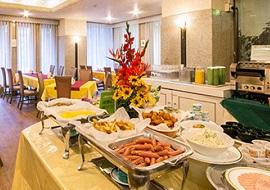 パールホテル葛西のレストラン(画像引用元:じゃらん)