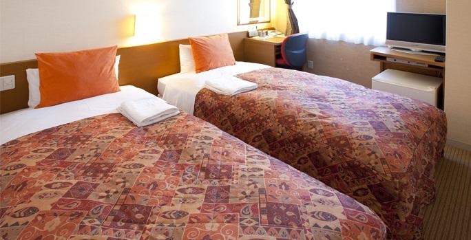 パールホテル葛西の客室(画像引用元:楽天トラベル)
