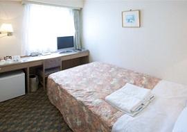 パールホテル葛西のダブルルーム2人部屋(画像引用元:じゃらん)