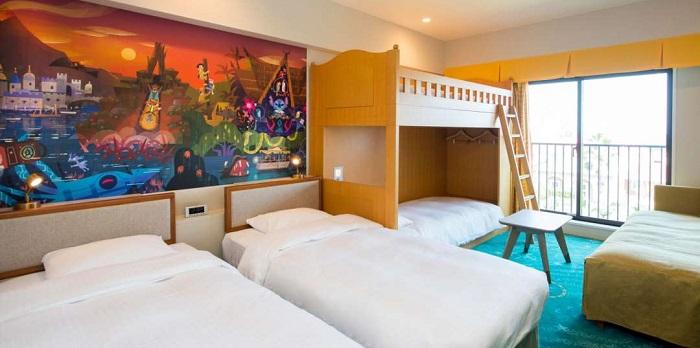 ディズニーセレブレーションホテルディスカバーの5人部屋の写真(画像引用元:Disney)
