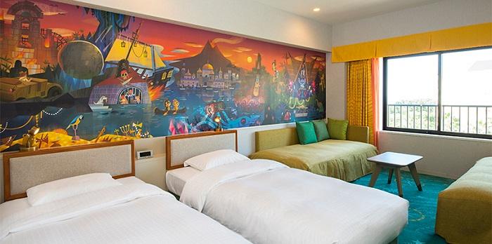 ディズニーセレブレーションホテルディスカバーの客室の写真(画像引用元:Disney)