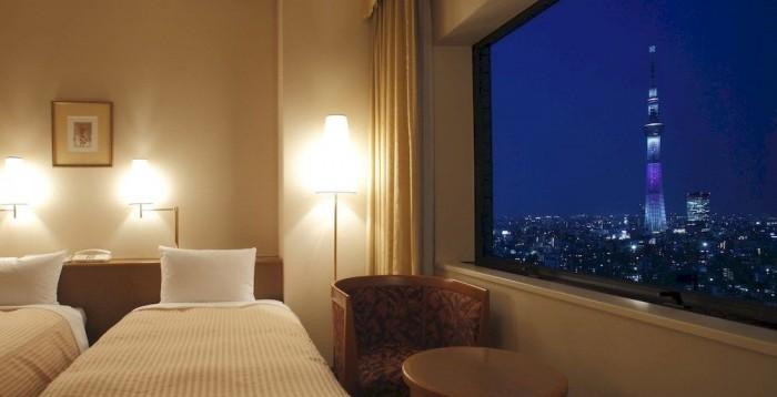 第一ホテル両国の夜景(画像引用元:楽天トラベル)