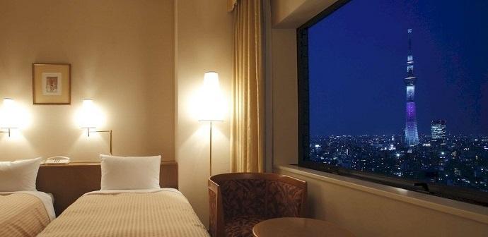 第一ホテル両国の室内(画像引用元:楽天トラベル)