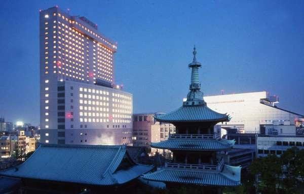 第一ホテル両国の外観(画像引用元:楽天トラベル)