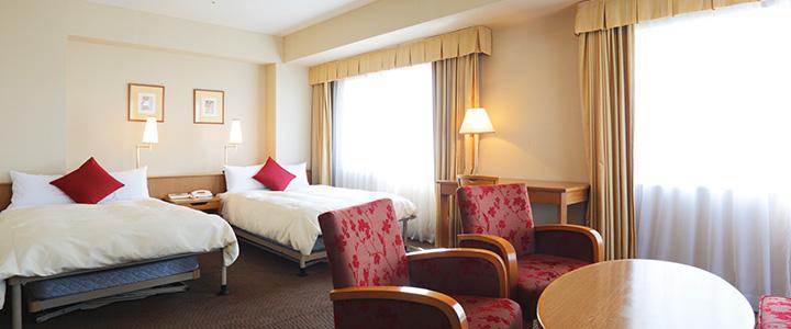 第一ホテル両国のツイン(画像引用元:楽天トラベル)