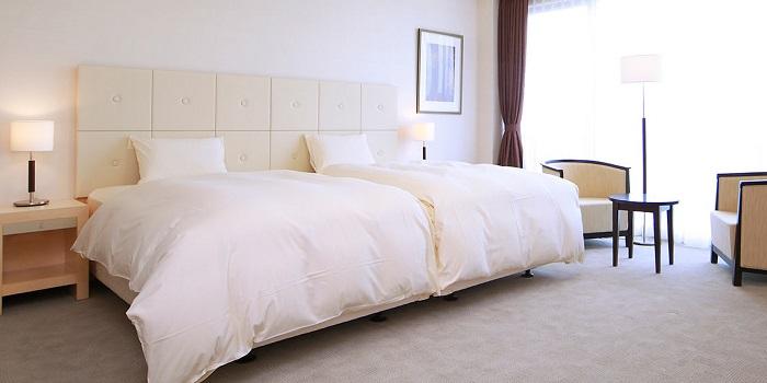 ホテルシーサイド江戸川の洋室(画像引用元:楽天トラベル)