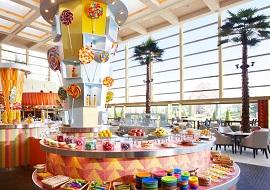 シェラトンの館内のレストラン(画像引用元: Sheraton Hotels & Resorts)