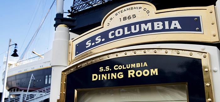 SSコロンビア号のラウンジ(画像引用元:Disney)