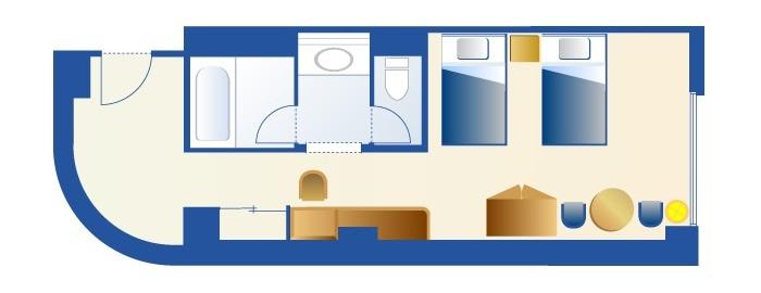 スティッチルームのフロアー図(画像引用元:Disney)