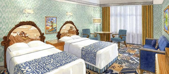 スティッチルーム(画像引用元:Disney)