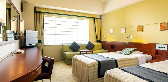 サンルートプラザ東京の4人部屋最安値