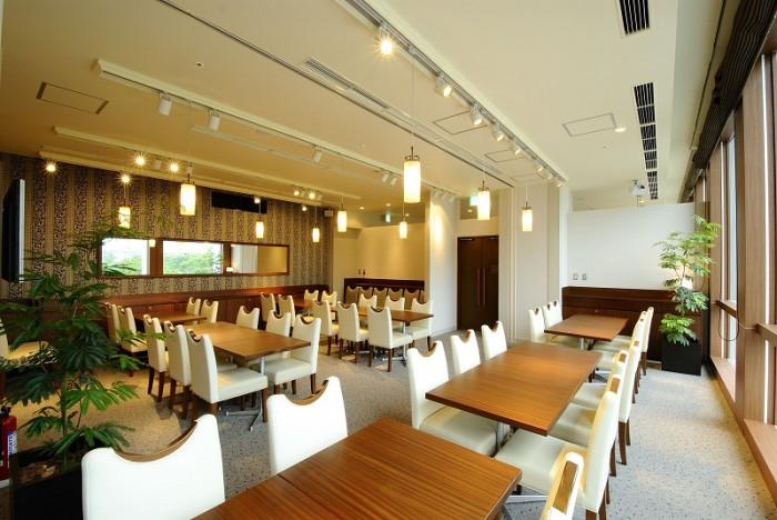 有明サンルートのレストラン(画像引用元:楽天トラベル)