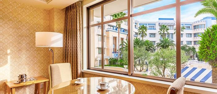 アンバサダーホテルの客室の特徴