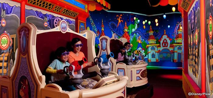 トイストーリーマニアのラウンジ(画像引用元:Disney)