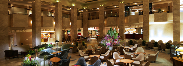 浦安ブライトンホテルのロビー(画像引用元:楽天トラベル)