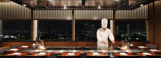 浦安ブライトンホテルの鉄板焼レストラン(画像引用元:楽天トラベル)