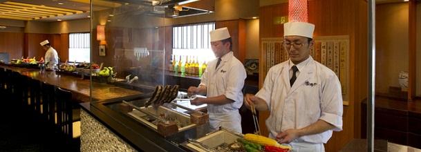 浦安ブライトンホテルの和食レストラン(画像引用元:楽天トラベル)