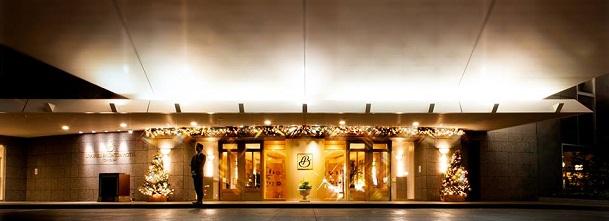 浦安ブライトンホテルのエントランス(画像引用元:楽天トラベル)