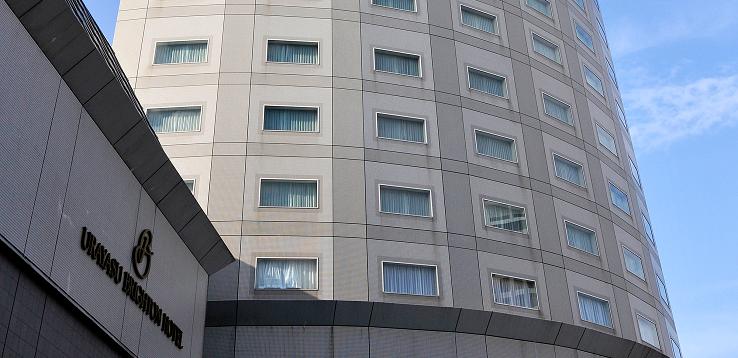 浦安ブライトンホテルの外観(画像引用元:楽天トラベル)
