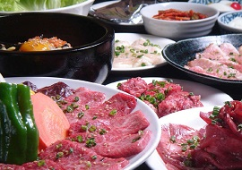 大江戸温泉物語浦安万華鏡の焼き肉レストラン(画像引用元:楽天トラベル)